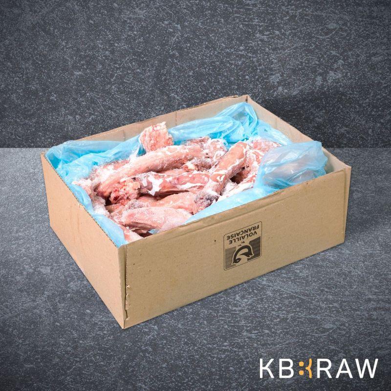 KB BARF Cous de dinde +/- 5Kg à 18,41€ sur Barf-Food-France