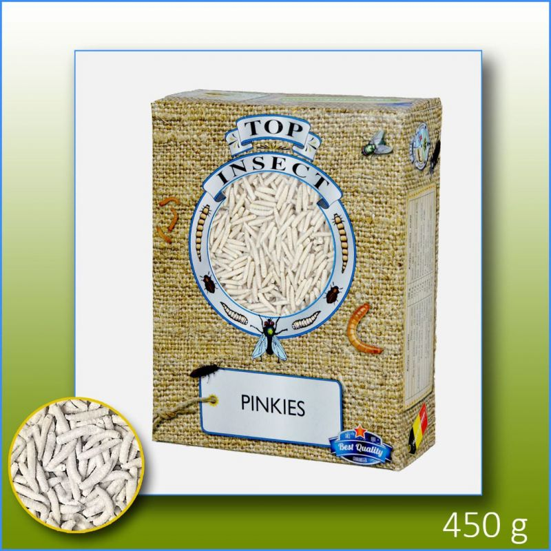 TOPINSECT Pinkies 1L/450g à 7,49€ sur Barf-Food-France