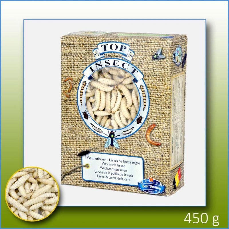 TOPINSECT Larve de fausse teigne 50g à 3,49€ sur Barf-Food-France