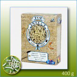 TOPINSECT Vers à soie 1L/400g à 16,66€ sur Barf-Food-France