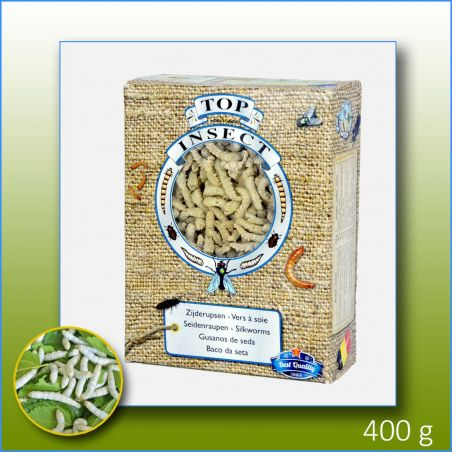 TOPINSECT Vers à soie 1L/400g