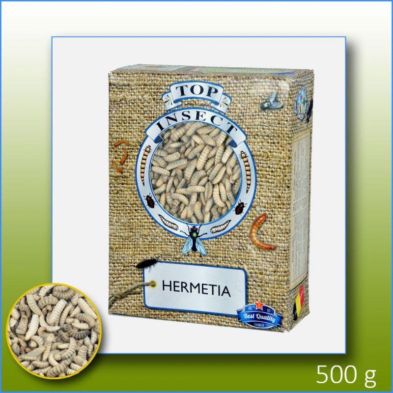 TOPINSECT Hermetia (vers de calcium) 1L/500g à 9,16€ sur Barf-Food-France