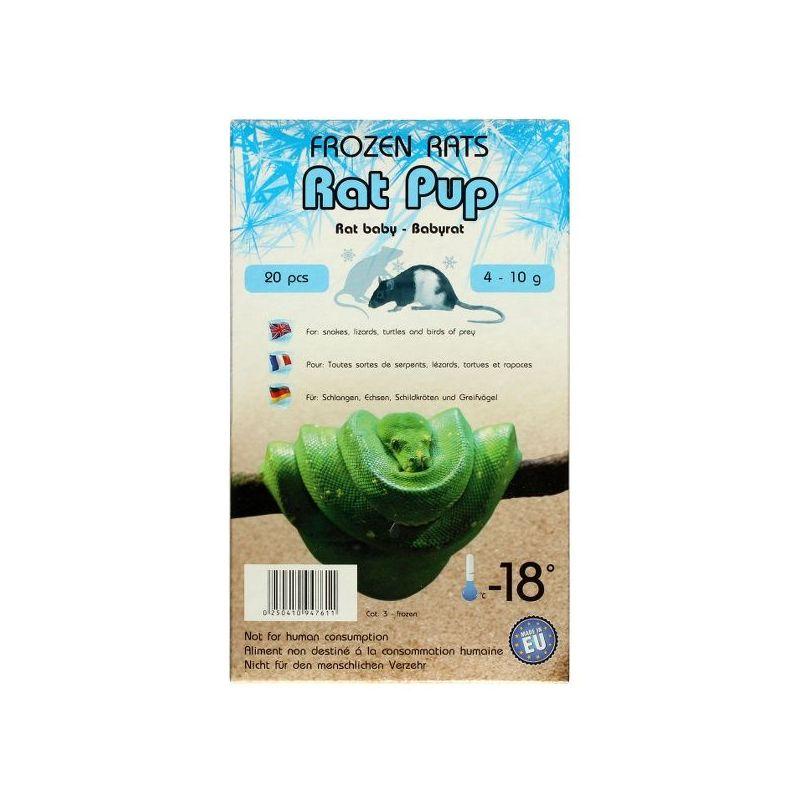 Rats congelées baby 4-10g Emballés par  20 pcs à 9,91€ sur Barf-Food-France