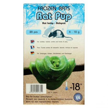 Rats congelées baby 4-10g Emballés par  20 pcs