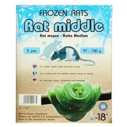 Rats congelées 91-150g Emballés par  5 pcs à 11,41€ sur Barf-Food-France