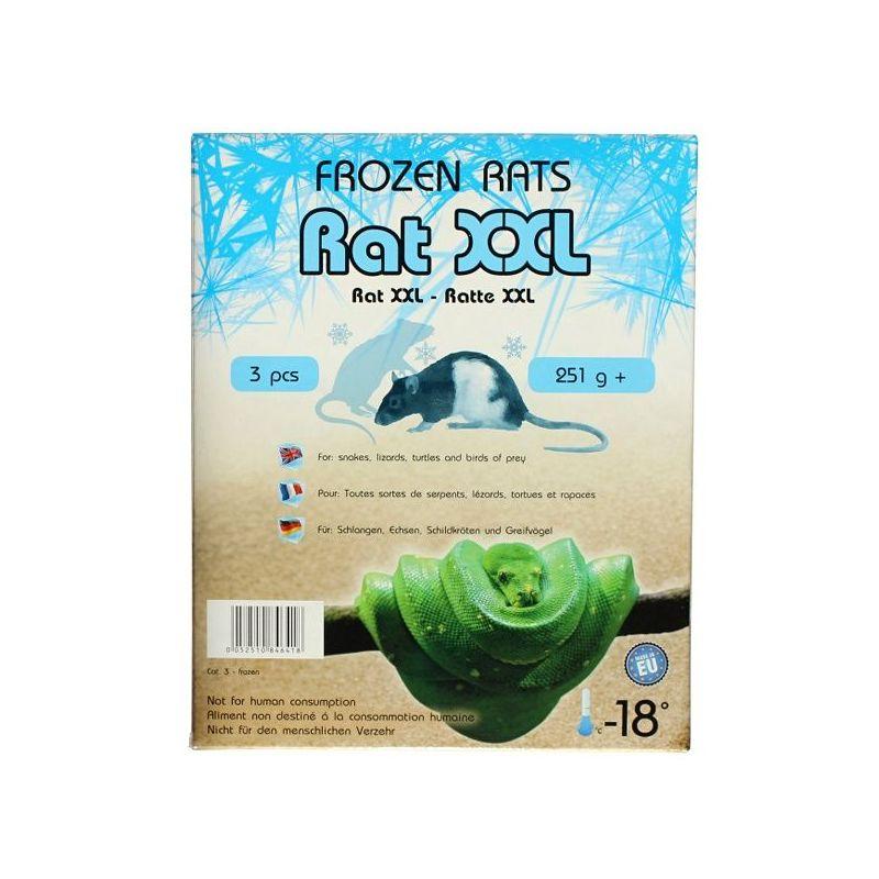 Rats congelées 251g+ Emballés par  3 pcs à 10,74€ sur Barf-Food-France