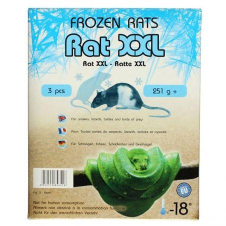 Rats congelées 251g+ Emballés par  3 pcs