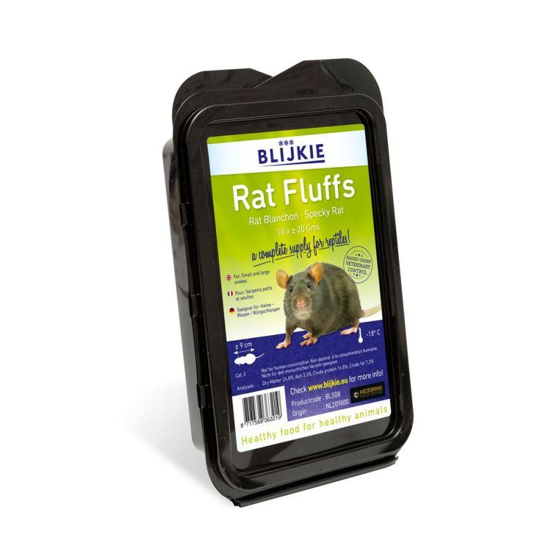 Blijkie blister blanchon de rat +/- 20 g X 10 à 10,17€ sur Barf-Food-France