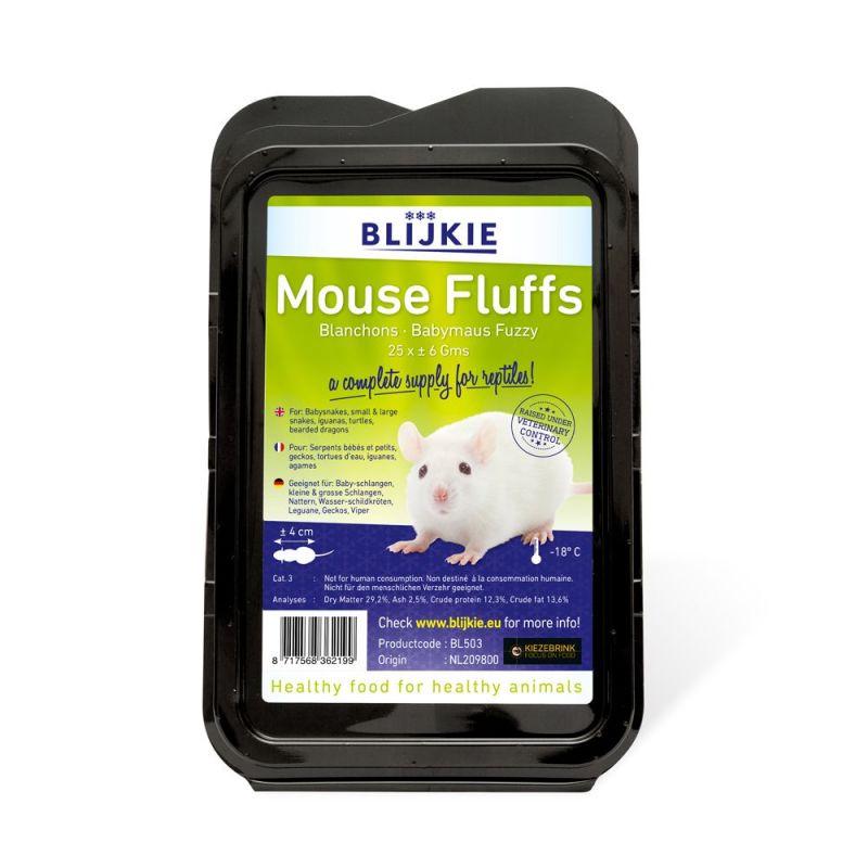 Blijkie blister Blanchon de souris +/- 6g  X 25 à 13,17€ sur Barf-Food-France