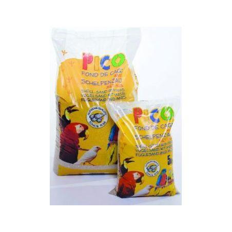 Gravier brun anise :  sac 25 kg