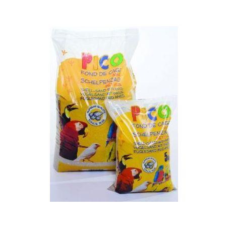 Gravier pico brun anise+ecailles :  sac 5 kg