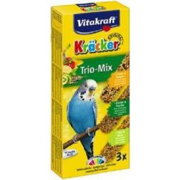 Kracker perruche x3 trio-mixi exotique à 2,74 € sur Barf-Food-France
