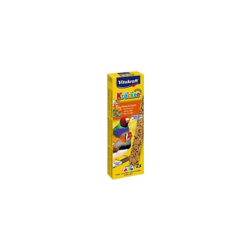 21257 kracker exotique x2 miel sesame à 2,16€ sur Barf-Food-France