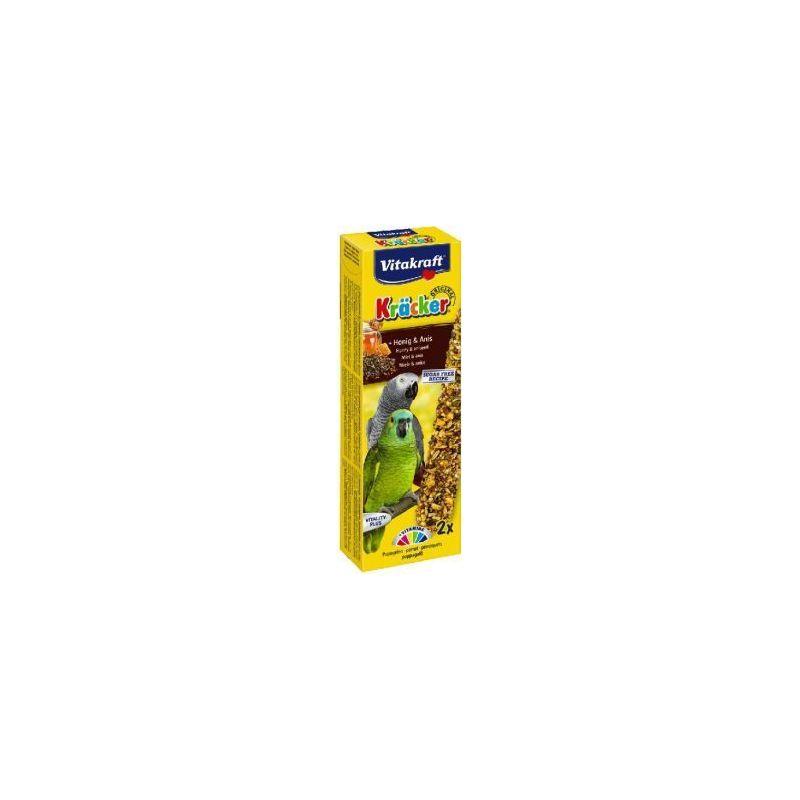 21287 kracker perroquet x2 miel anis à 4,66€ sur Barf-Food-France