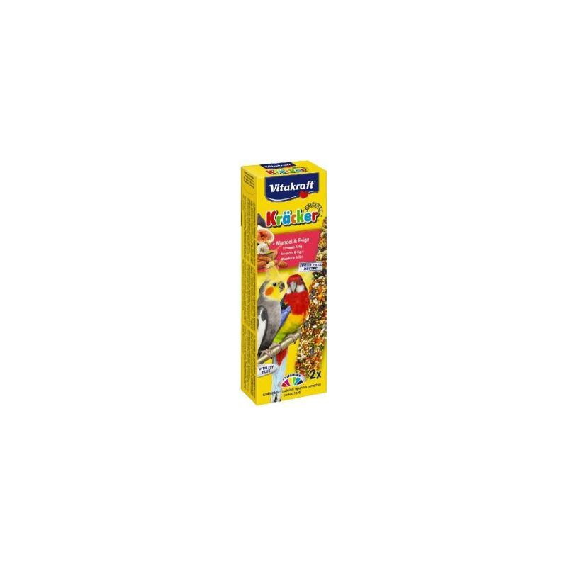 21289 kracker grande perruche x2 amande figue  à 4,66 € sur Barf-Food-France