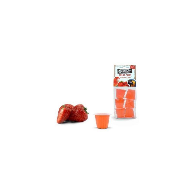 Coupe de fruit fraise x6 à 2,99€ sur Barf-Food-France