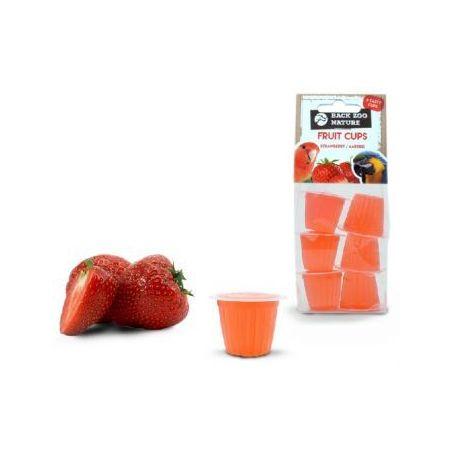 Coupe de fruit fraise x6