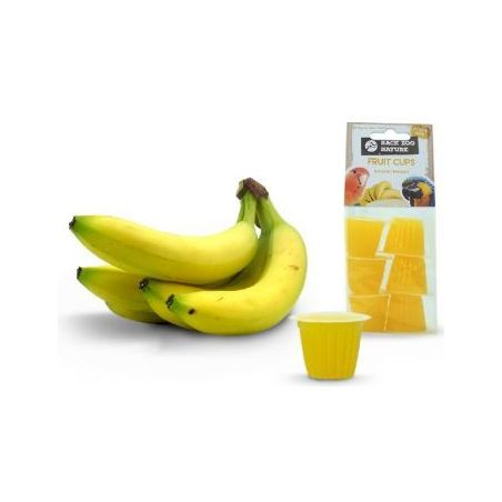 Coupe de fruit banane x6