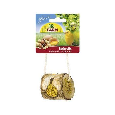 10977 jr birds rondin de bois-canari+perruche