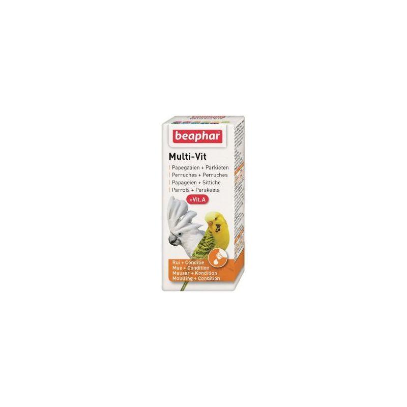 16104 multi-vit perroquet 20 ml+vitamine a à 7,49€ sur Barf-Food-France