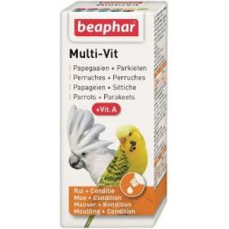 16093 multi-vit perroquet 50 ml+vitamine a à 9,99€ sur Barf-Food-France