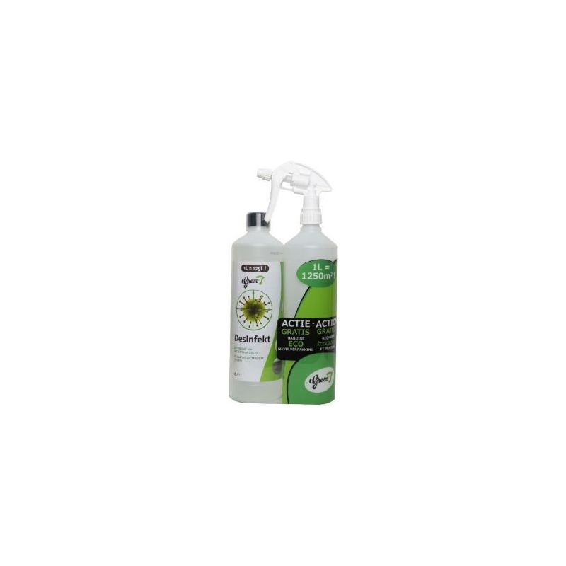 743011 desinfect 1l-green 7 à 17,16 € sur Barf-Food-France