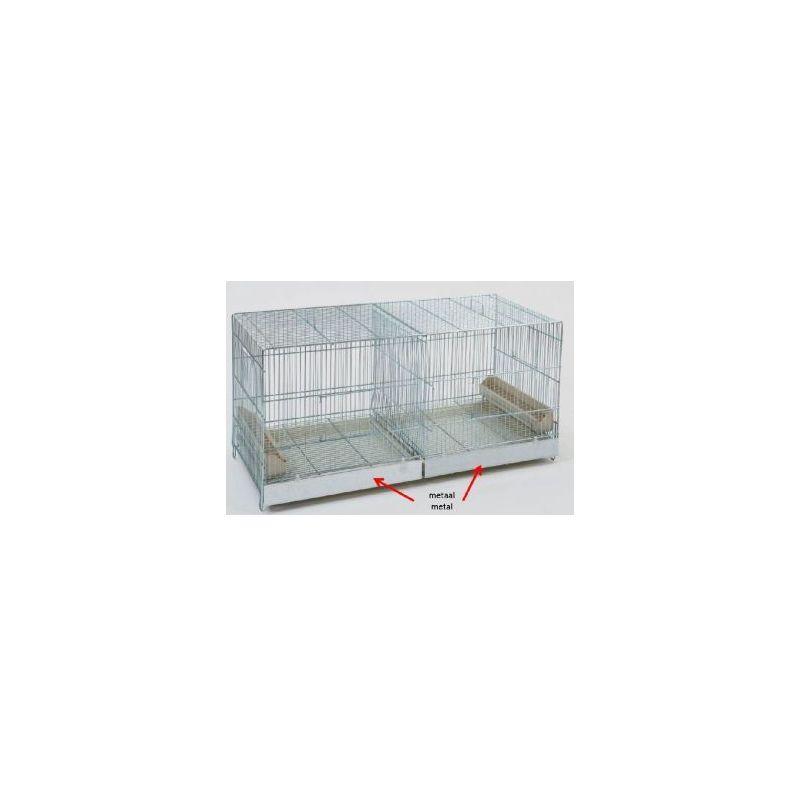 Cova 90x40x45 cage d'elevage metal+porte avan à 82,83€ sur Barf-Food-France