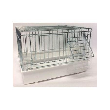 055 /cage baby metal /17*24.5*19h nouveau