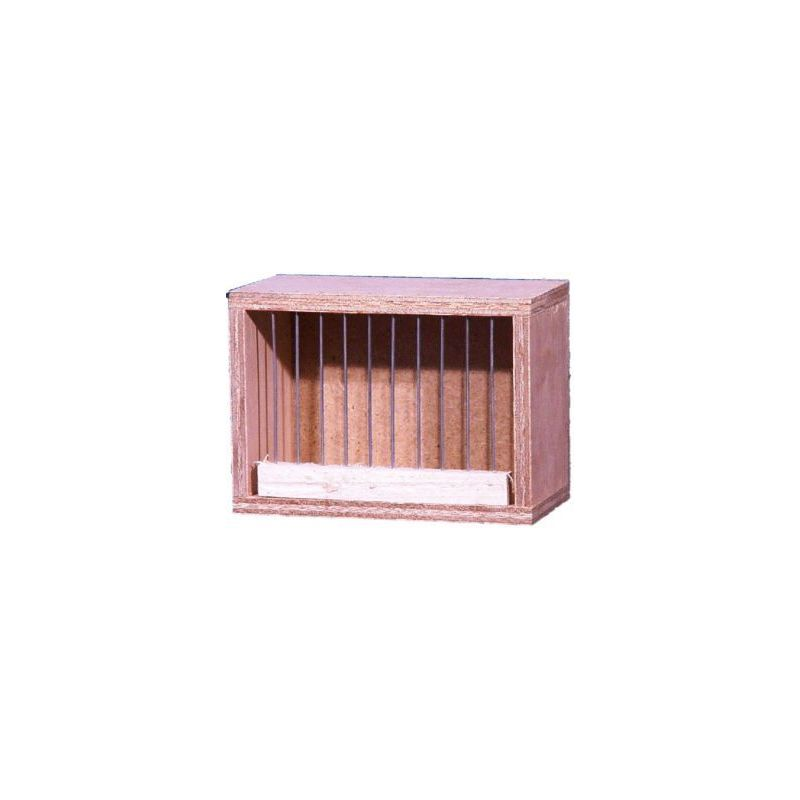 Cage de transport bois pm15*10*8 à 3,41 € sur Barf-Food-France