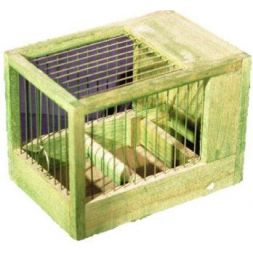 Petite cage verte/ 21*15.5*14.5 à 8,74€ sur Barf-Food-France