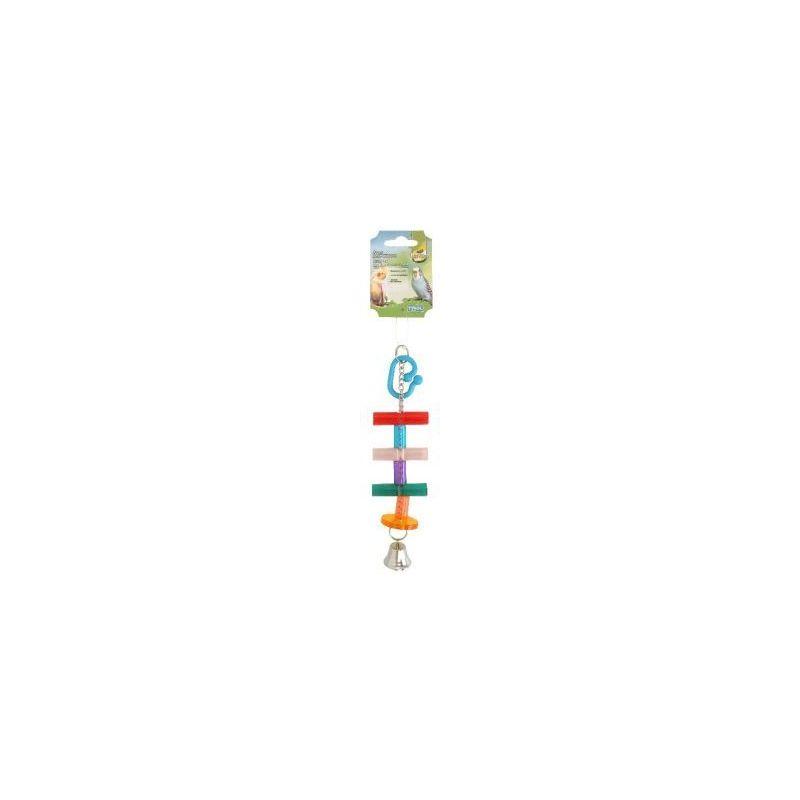 134701 jouet oiseaux echelle+clochette à 3,24€ sur Barf-Food-France