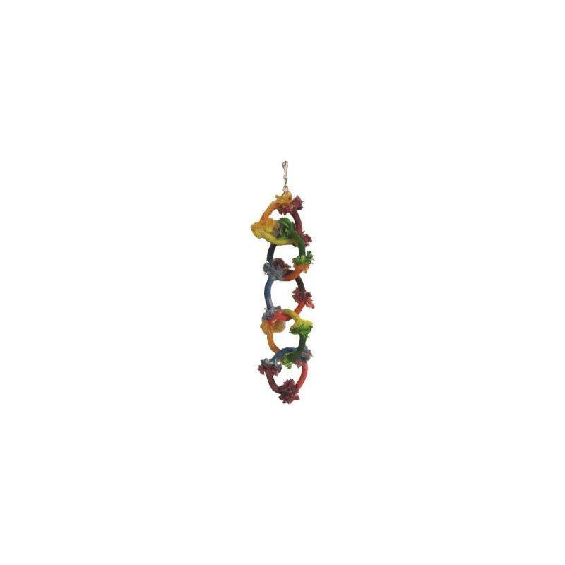 Bt2924 anneaux olympiques corde rt8 41cm à 6,16€ sur Barf-Food-France