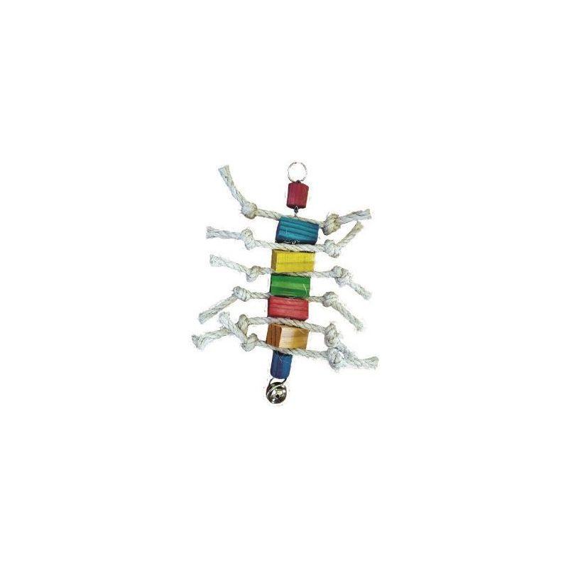 Bt3102 chenille bois+corde 30cm à 4,83€ sur Barf-Food-France