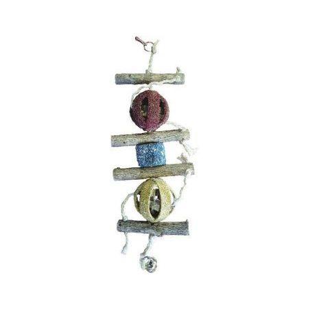 Bt3026 balles corail+ puzzle bois 50cm