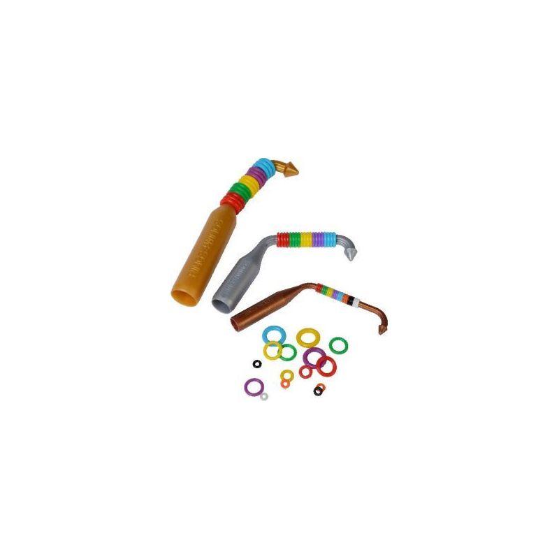 Elastic rings 20 bagues 2 mm +gun à 6,16€ sur Barf-Food-France