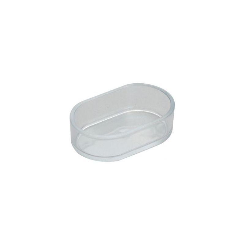 072 /mangeoire ovale plast transparente à 1,83€ sur Barf-Food-France
