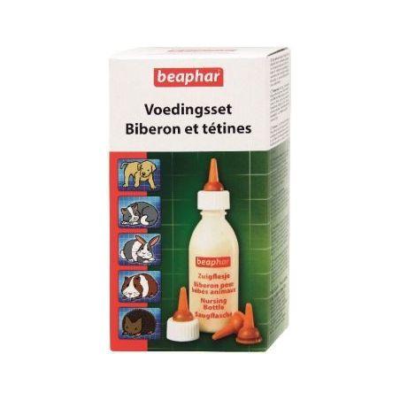 Set biberon+4 tetines+brosse beaphar