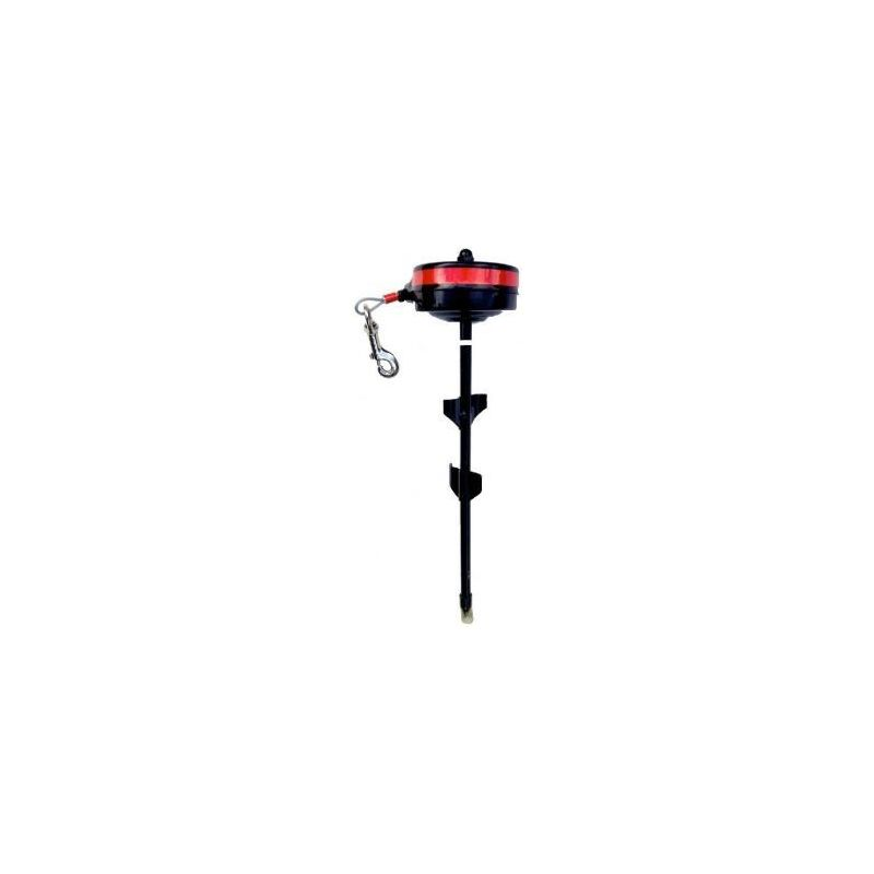 Cable enrouleur rotatif 360° max 35-55kg 4.5m à 33,33€ sur Barf-Food-France