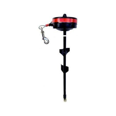 Cable enrouleur rotatif 360° max 35-55kg 4.5m