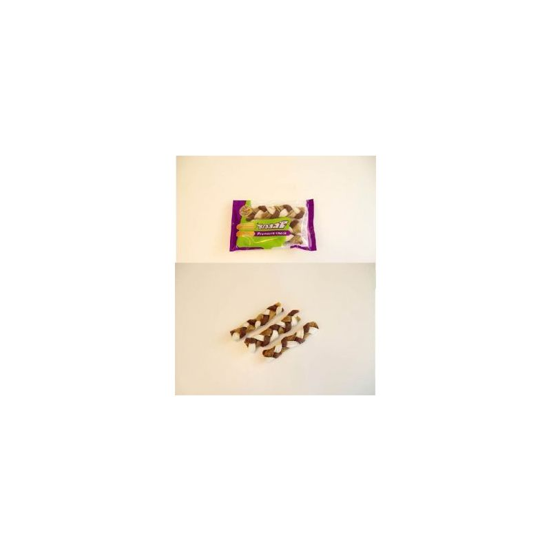 Prem/snack 110-100122 twister tresse 12cm*3 à 3,58 € sur Barf-Food-France