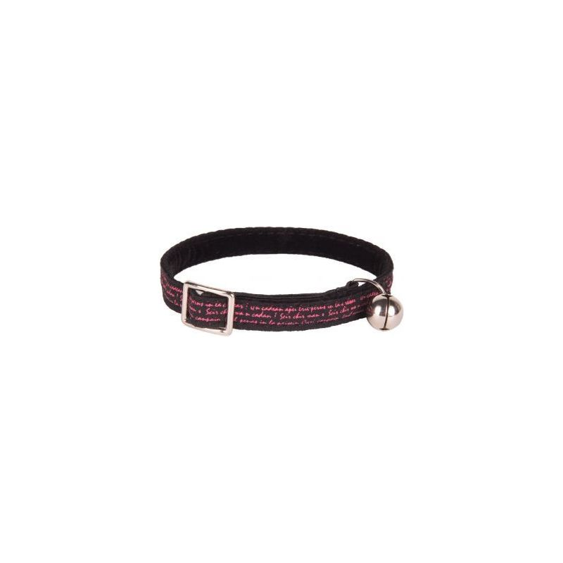 218231noi collier nylon style ecriture noir à 4,91€ sur Barf-Food-France