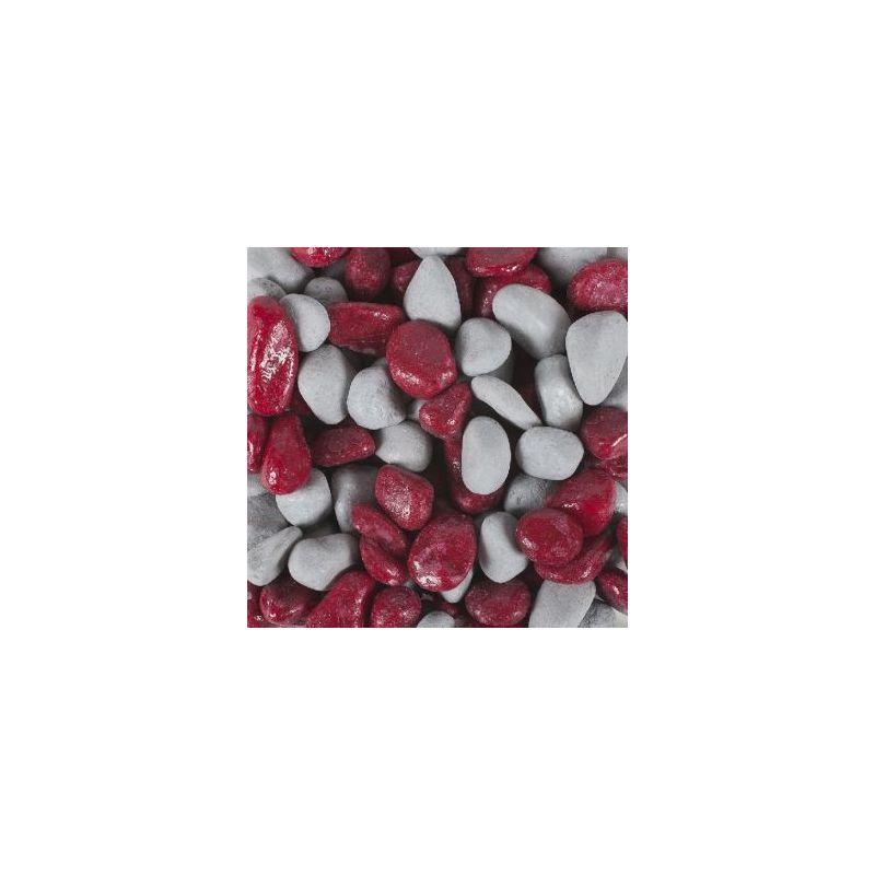 348022 graviers vernis fushia/gris 2kg  à 5,66€ sur Barf-Food-France