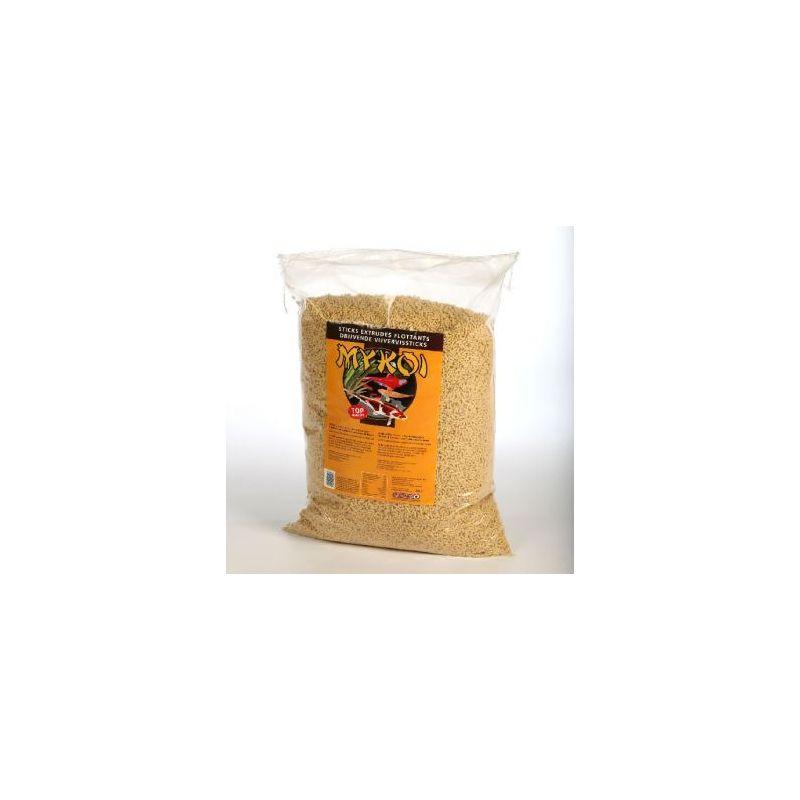 My koi brun sticks jaune :  seau 2,5 litre à 4,16€ sur Barf-Food-France