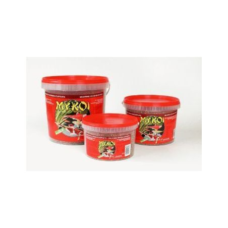 My koi rouge mix granules :  seau 2,5 litre