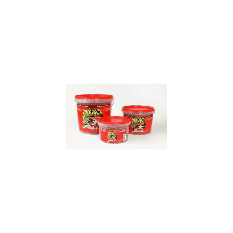 My koi rouge mix granules :  seau 5 litre à 10,74 € sur Barf-Food-France
