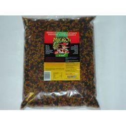My koi 6mm mix granules noir/jaune/rouge :  sac 8 litre à 12,49€ sur Barf-Food-France