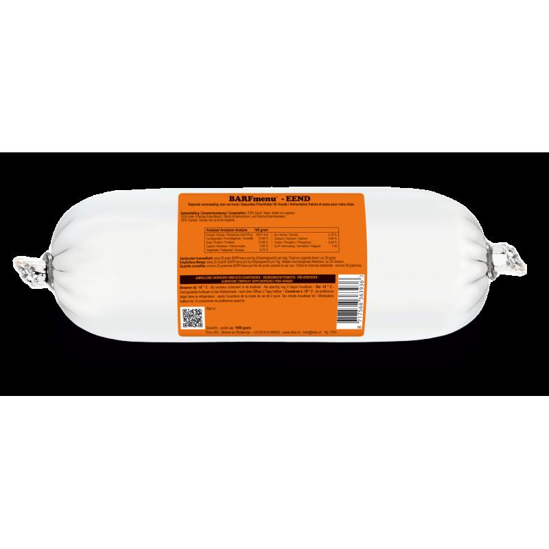 Barfmenu Canard 10 X 500g à 29,24€ sur Barf-Food-France