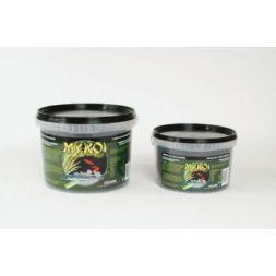 My koi noir granules esturgeons :  seau 2,5 litre à 7,49€ sur Barf-Food-France