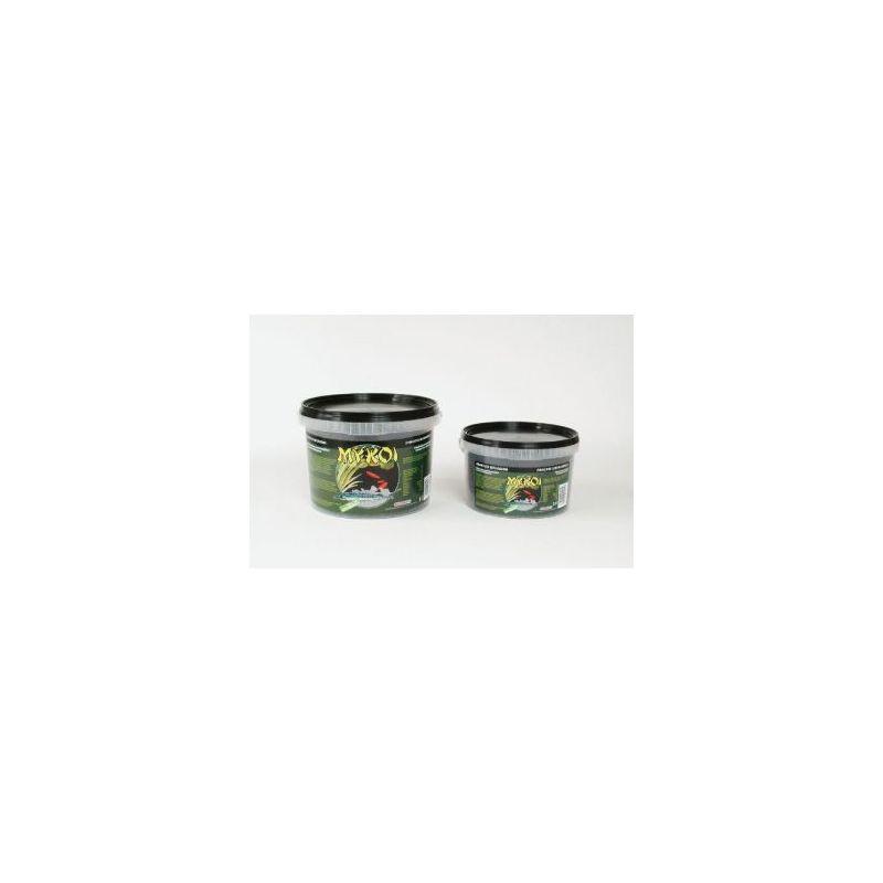 My koi noir granules esturgeons :  seau 2,5 litre à 6,91€ sur Barf-Food-France