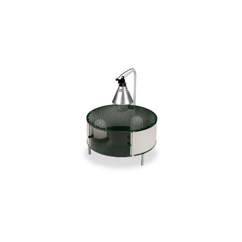10710 cage eleveuse poussins Ø71cm+accessoir à 184,99€ sur Barf-Food-France